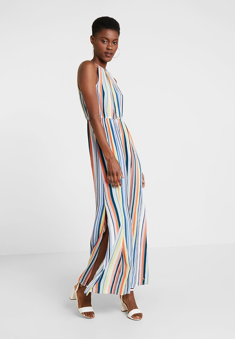 TOM TAILOR DENIM - PRINTED DRESS - Maxikleid - multicolor