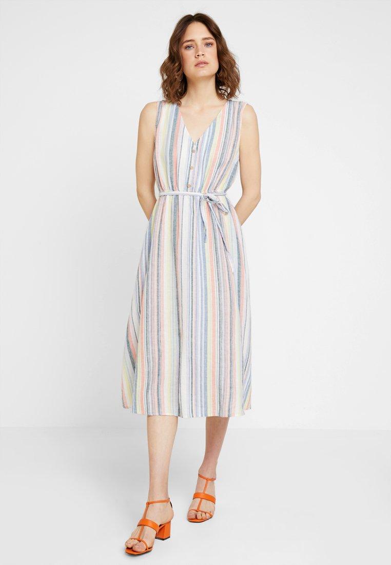 TOM TAILOR DENIM - STRIPED DRESS - Day dress - multicolor