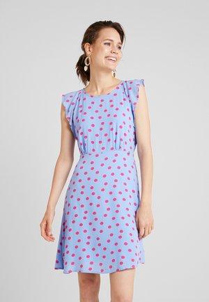 DOT PRINT  - Denní šaty - light blue/pink