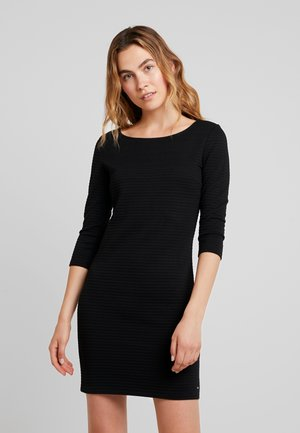 STRUCTURED BODYCONDRESS - Tubino - deep black