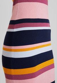 TOM TAILOR DENIM - DRESS - Shift dress - multicolor/blue - 7