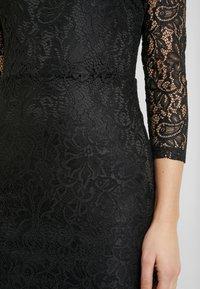 TOM TAILOR DENIM - BODYCON DRESS - Vestido de cóctel - deep black - 7