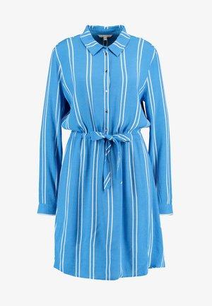 PRINTED DRESS - Shirt dress - blue/white