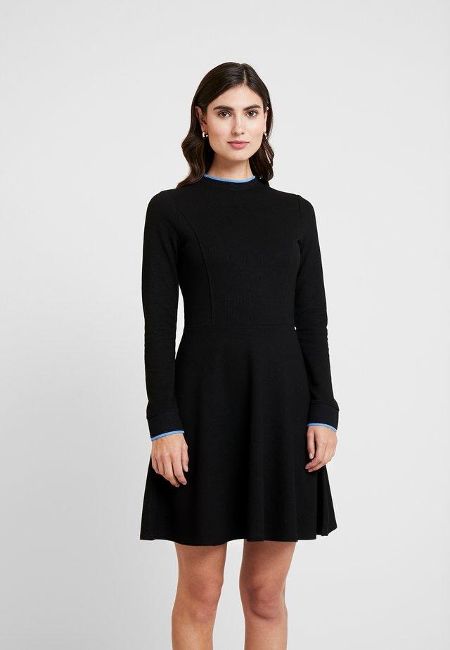 SKATER DRESS - Sukienka z dżerseju - deep black