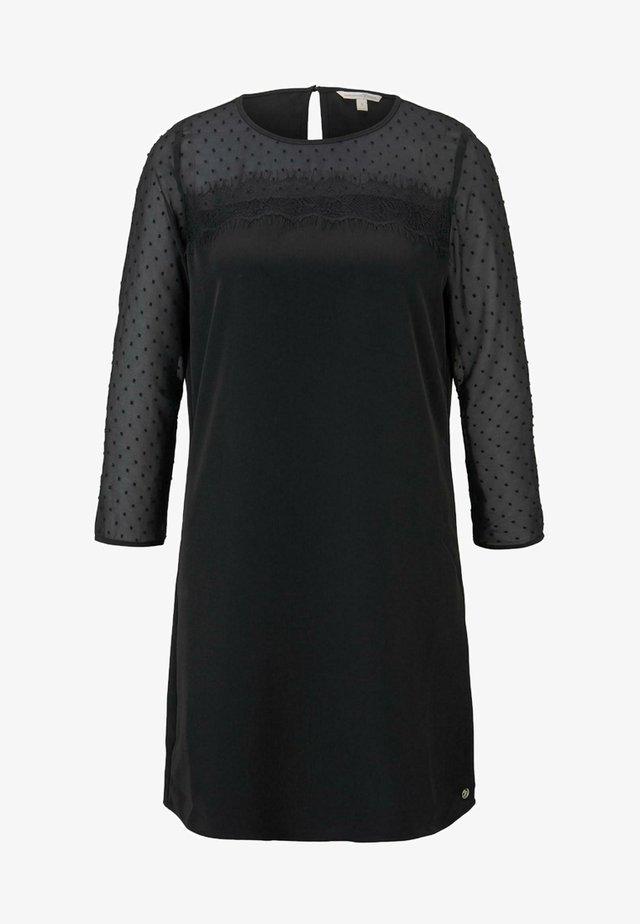Vestido informal - deep black