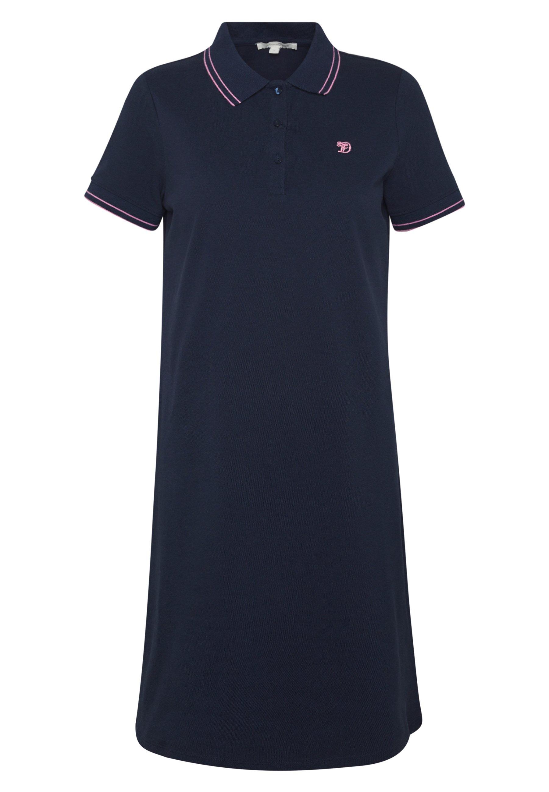 TOM TAILOR DENIM DRESS - Sukienka letnia - real navy blue