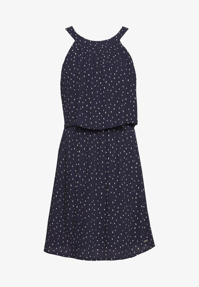 Vapaa-ajan mekko - dark blue minimal