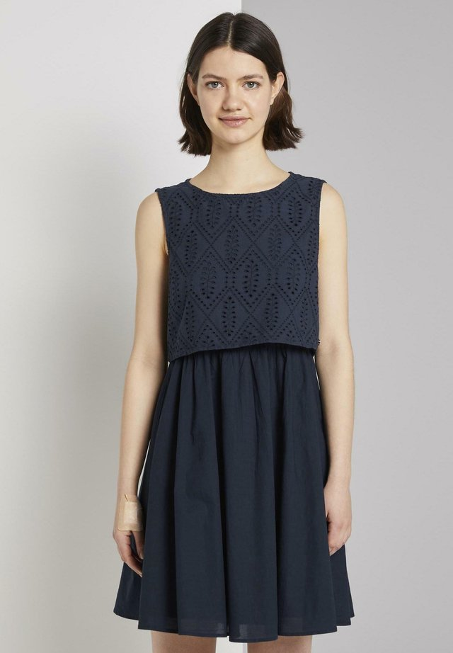 Korte jurk - real navy blue
