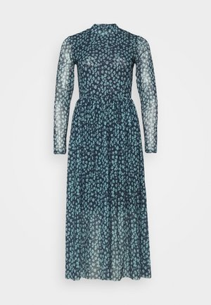 PRINTED DRESS - Denní šaty - navy/mint