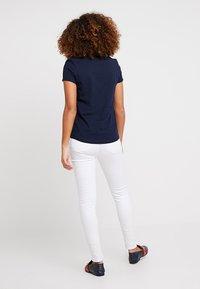 TOM TAILOR DENIM - STRIPE SLUB TEE - T-shirt z nadrukiem - sky captain blue - 2
