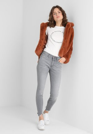 DOUBLE PACK - T-shirt print - shale grey melange