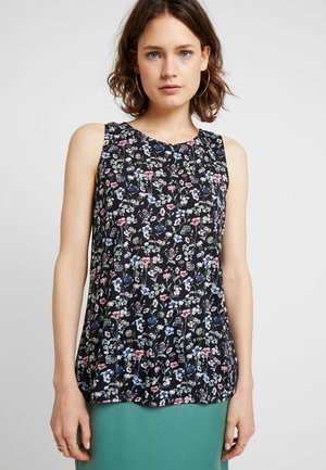 ALL OVER PRINTED  - Topper - black