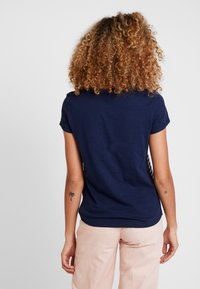 TOM TAILOR DENIM - PRINTED STRIPE TEE - Printtipaita - blue/white/rose - 2