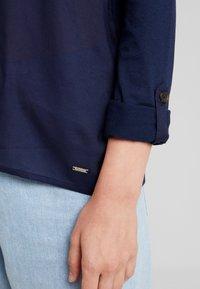 TOM TAILOR DENIM - TEE - Bluse - real navy blue - 5