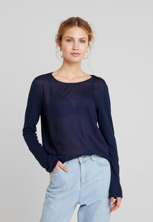 TEE - Blouse - real navy blue