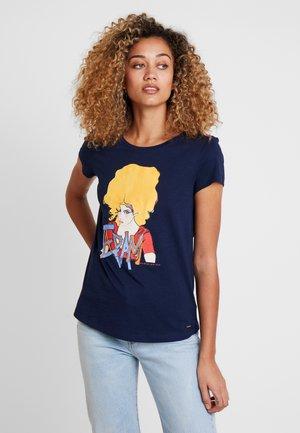 TEE - Camiseta estampada - real navy blue