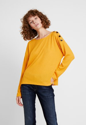 BOXY - Long sleeved top - sunflower yellow