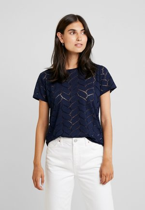 SOFT TEE - T-shirts med print - real navy blue