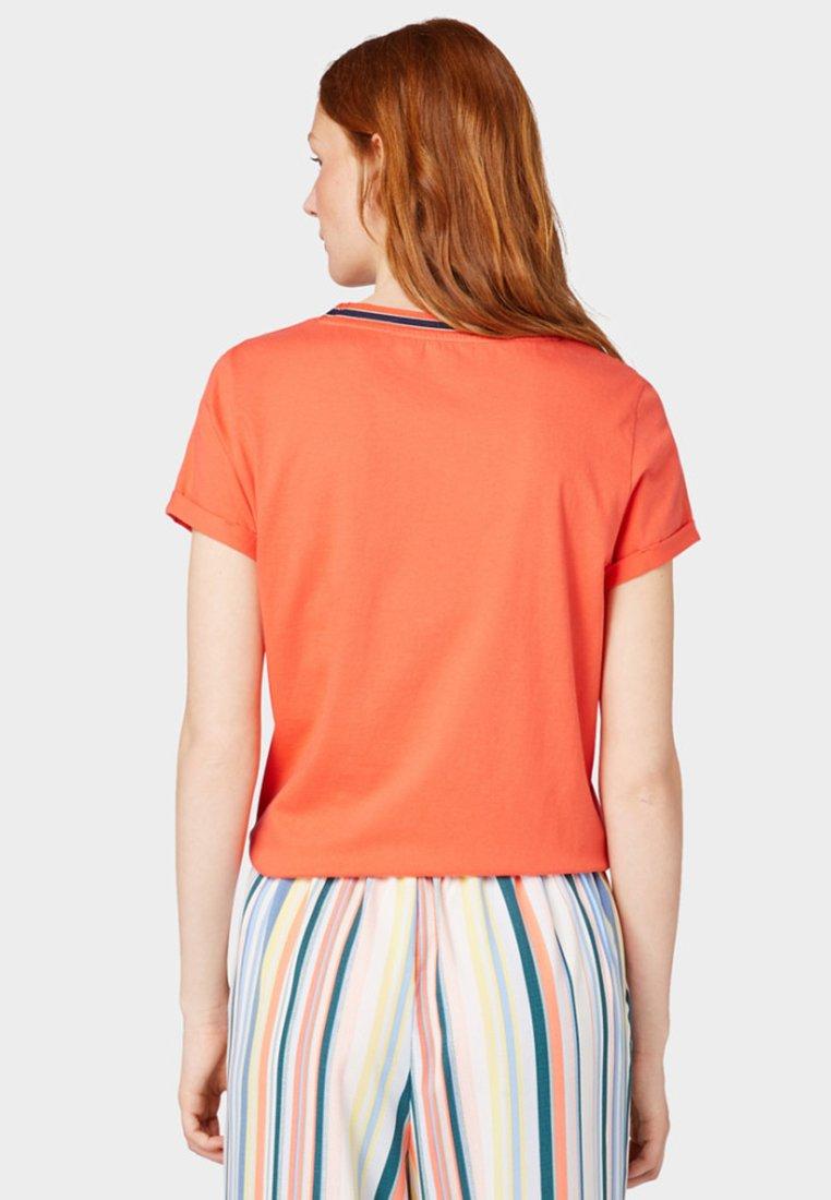 TOM TAILOR DENIM T-shirt basique orange
