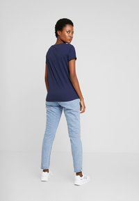 TOM TAILOR DENIM - TEE WITH PRINT - T-shirt print - real navy blue - 2