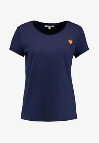 TOM TAILOR DENIM - TEE WITH PRINT - T-shirt print - real navy blue - 3