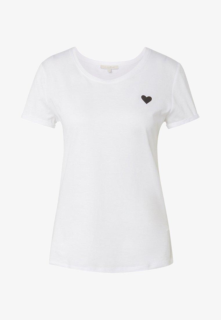 TOM TAILOR DENIM - MIT PRINT - T-Shirt print - white