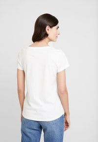 TOM TAILOR DENIM - DOUBLE PACK BASIC TEE - T-shirt z nadrukiem - navy/white - 2