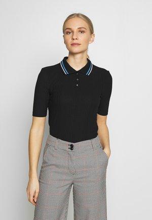 Poloshirt - deep black
