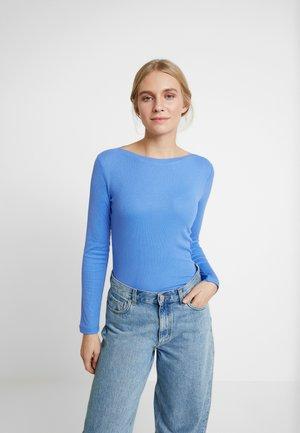 BASIC - Camiseta de manga larga - water sport blue