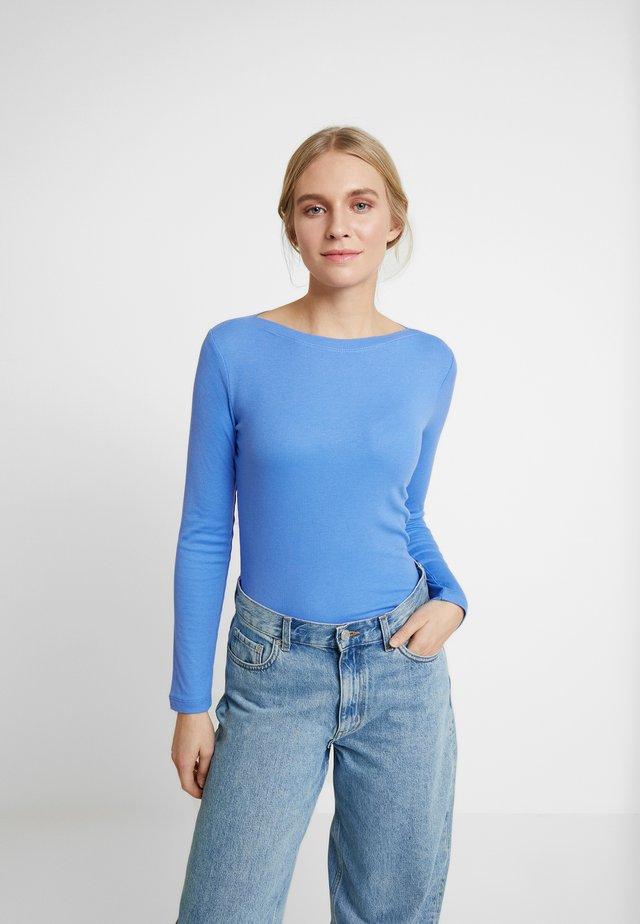 BASIC - Bluzka z długim rękawem - water sport blue