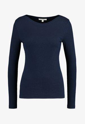 BASIC - Maglietta a manica lunga - real navy blue