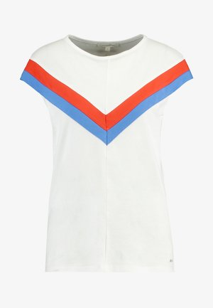 COLOURBLOCK TEE - T-shirts med print - off white