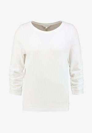 WAFFLE STRUCTURED  - Pullover - off white
