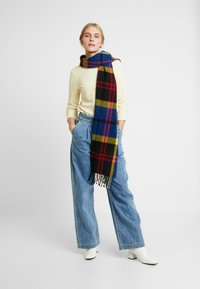 TOM TAILOR DENIM - WAFFLE STRUCTURED  - Jersey de punto - pale yellow - 1