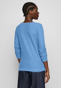 TOM TAILOR DENIM - WAFFLE STRUCTURED  - Sweter - water sport blue - 2