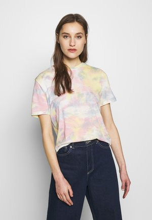 T-shirt med print - yellow rose