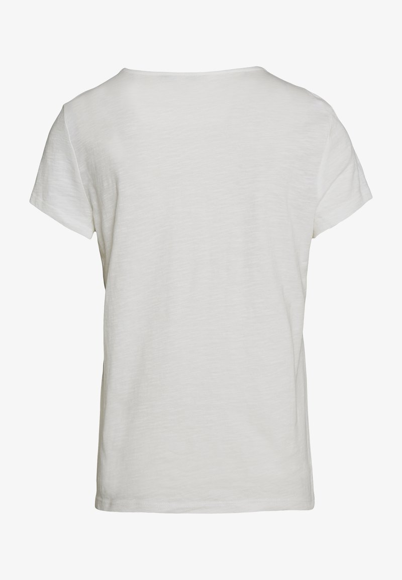 TOM TAILOR DENIM SHIFFLI - T-shirt con stampa - off white xDtTDk fashion style