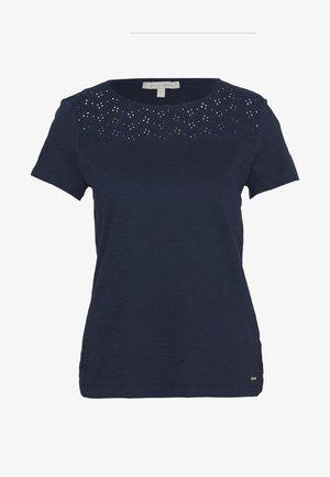 SHIFFLI MIX TEE - T-shirts - real navy blue