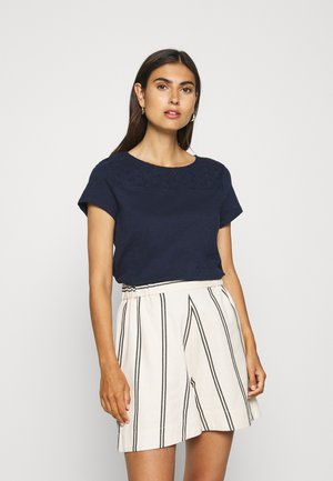 SHIFFLI MIX TEE - Camiseta estampada - real navy blue