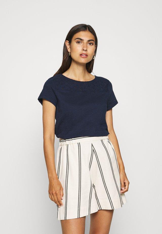 SHIFFLI MIX TEE - T-shirt print - real navy blue