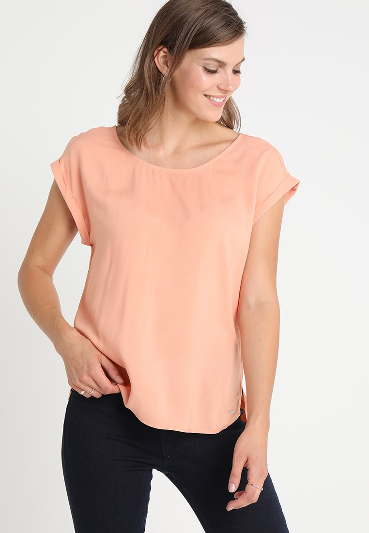 TOM TAILOR DENIM - WITH BACK DETAIL - Blouse - bleached coral