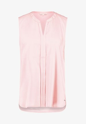 SLEEVELESS OPEN NECK  - Blouse - blush pink
