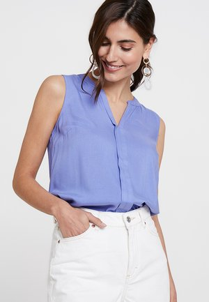 SLEEVELESS OPEN NECK  - Bluser - blue blossom