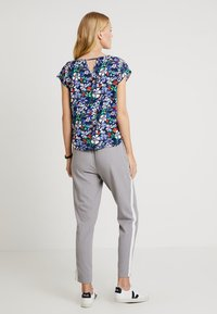 TOM TAILOR DENIM - OVERCUT SHOULDER - Blouse - blue - 2