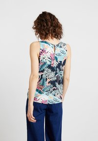 TOM TAILOR DENIM - PRINTED - Topper - colorful tropical green - 2