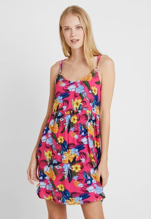 PRINTED LOOSE DRESS - Vestito estivo - pink/purple