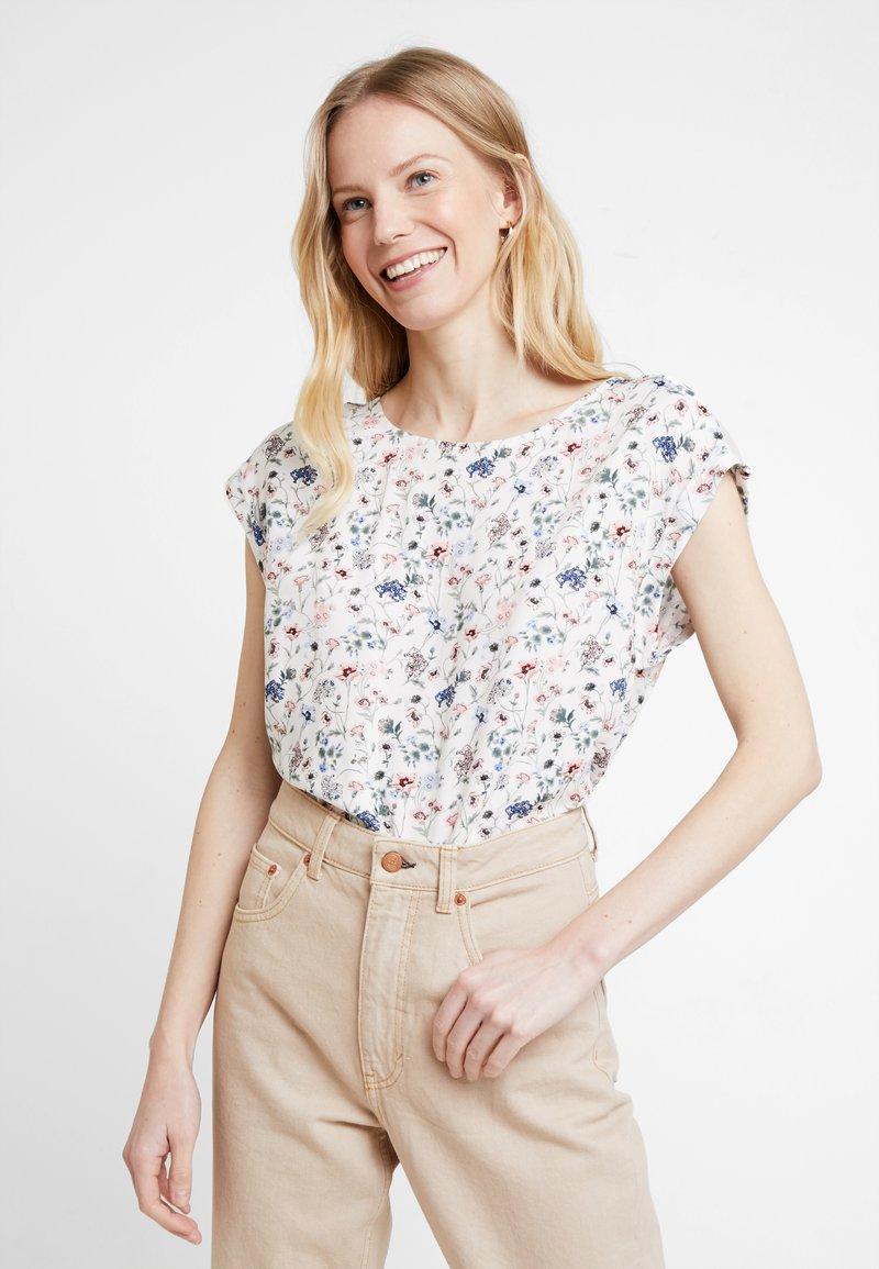 TOM TAILOR DENIM - SPORTY BLOUSE - Bluse - off white
