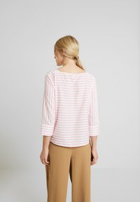 TOM TAILOR DENIM - STRIPED CARREEBLOUSE - Bluzka - rose/white - 2