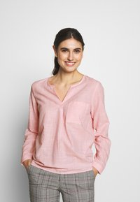 TOM TAILOR DENIM - Bluzka - light pink - 0