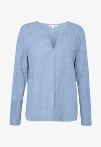 TOM TAILOR DENIM - Bluzka - light blue/white - 3